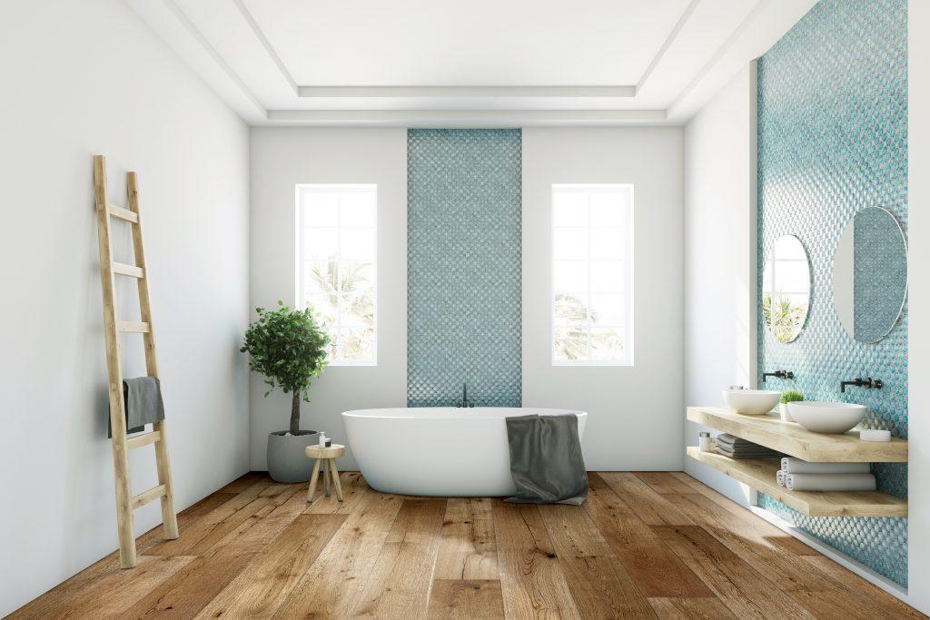 ¿Se puede instalar parquet en el baño?