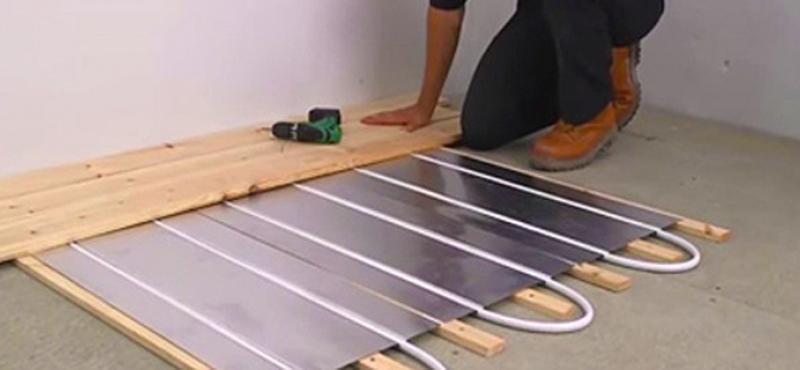 """""""¿Es compatible la calefacción radiante con piso de parquet?"""""""